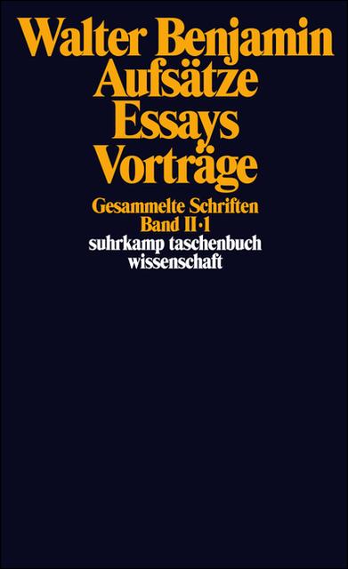 Gesammelte Schriften II. Aufsätze, Essays, Vorträge.