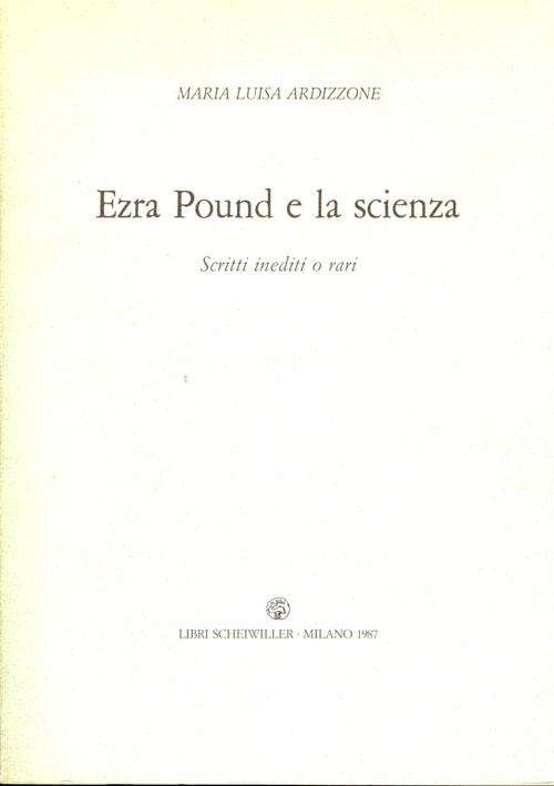 Ezra Pound e la scienza