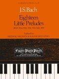 Eighteen Little Preludes, BWV 924-8, 930, 933-43 & 999