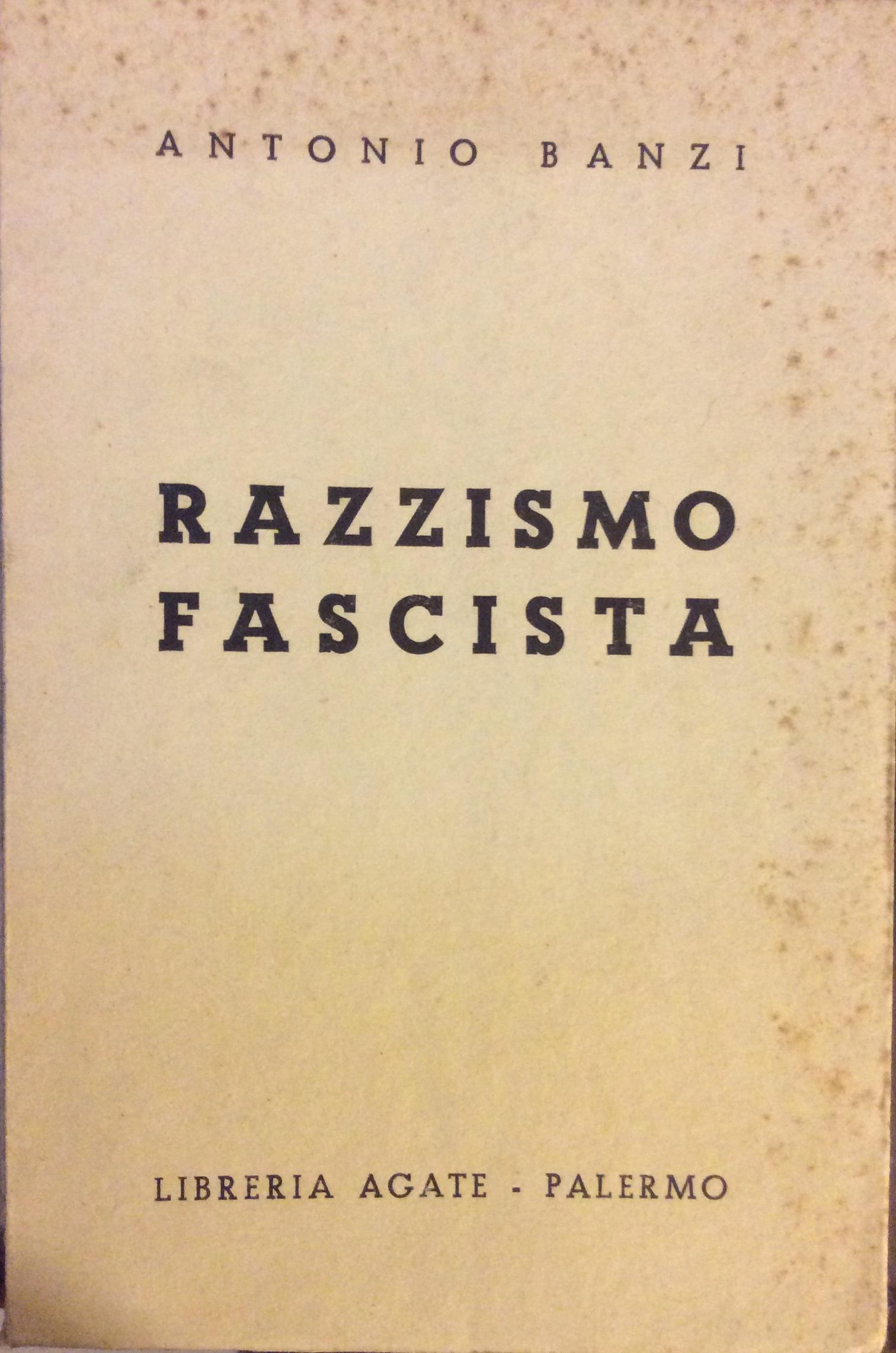 Razzismo fascista
