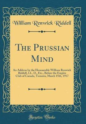 The Prussian Mind