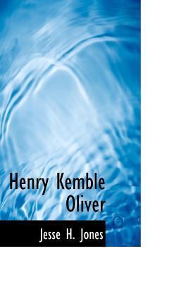 Henry Kemble Oliver