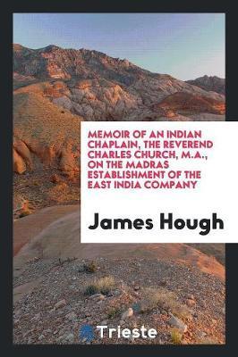 Memoir of an Indian ...