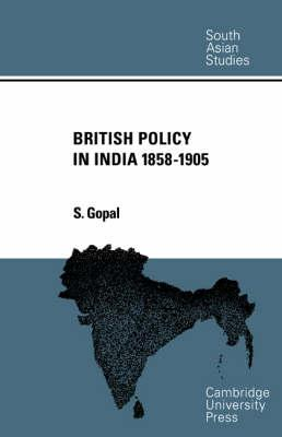 British Policy in India 1858-1905