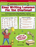 Easy Writing Lessons for the Overhead