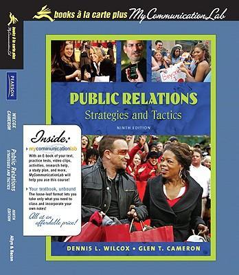 Public Relations + Mycommunicationlab