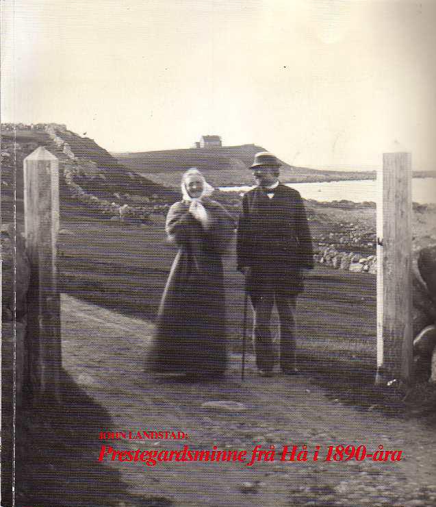 Prestegardsminne frå Hå i 1890-åra
