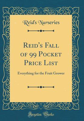 Reid's Fall of 99 Pocket Price List