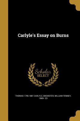 CARLYLES ESSAY ON BU...