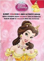 Disney Princess Giant Coloring and Activity Book