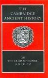 The Cambridge Ancient History Volume 12