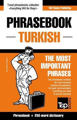 English-Turkish phrasebook and 250-word mini dictionary