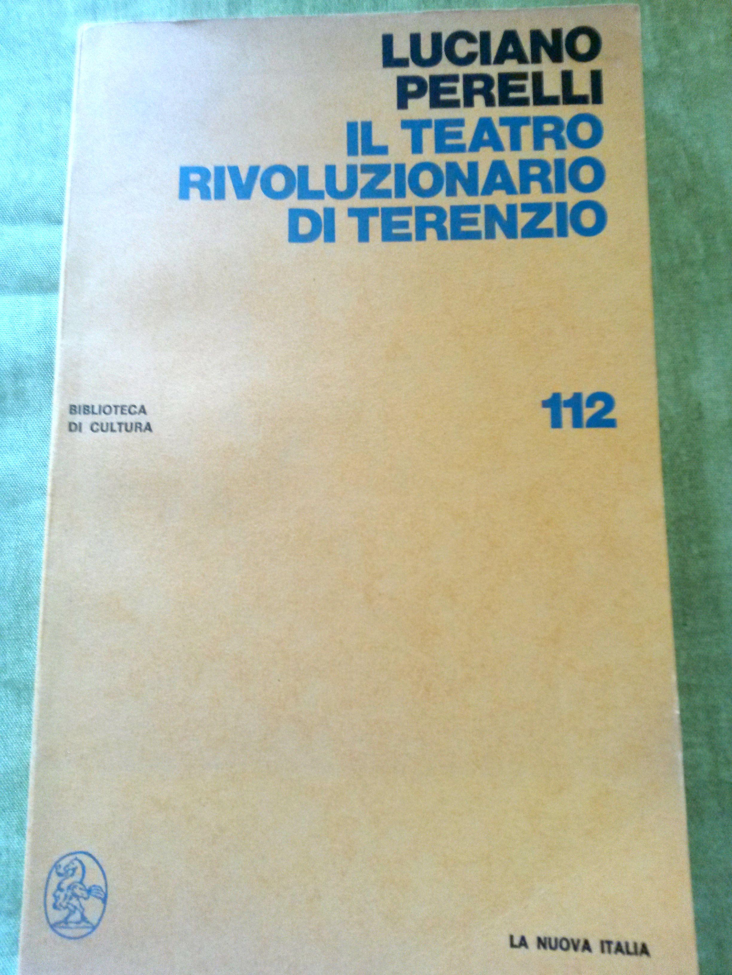 Il teatro rivoluzionario di Terenzio