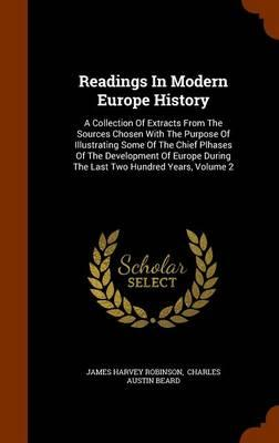 Readings in Modern Europe History