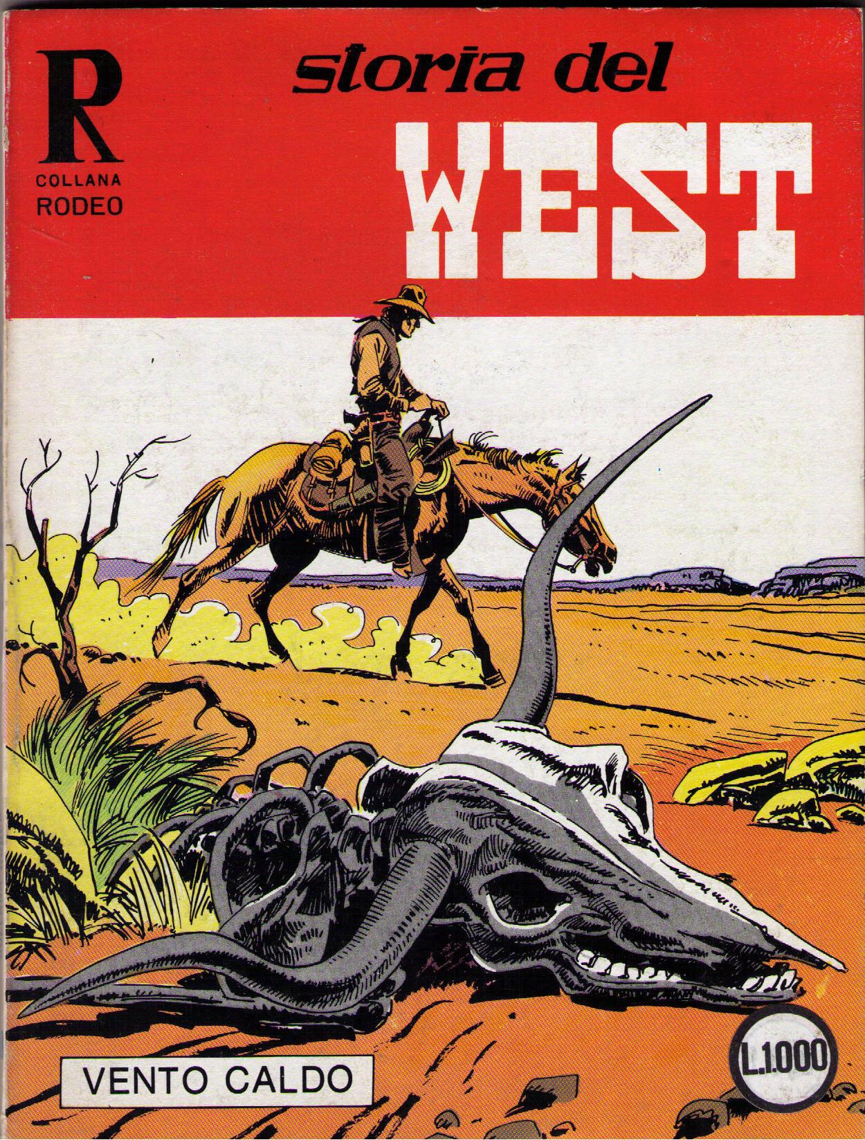 Storia del West n. 70 (Collana Rodeo n. 158)