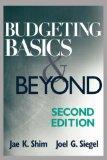 Budgeting Basics and...