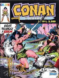 Conan il Barbaro Colore n. 19