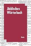 Jiddisches Wörterbuch. Sonderausgabe.