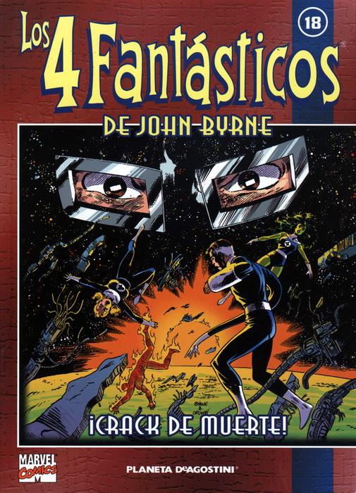 Coleccionable Los 4 Fantásticos de John Byrne #18 (de 25)
