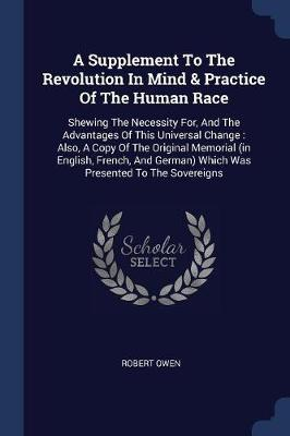 A Supplement to the Revolution in Mind & Practice of the Human Race