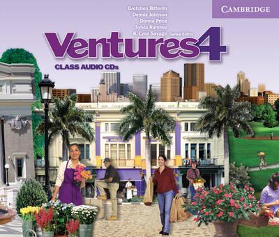 Ventures Level 4 Class Audio CD