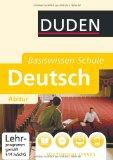 Duden Basiswissen Schule. Deutsch Abitur