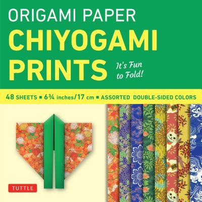 Origami Paper Chiyogami Prints 6 3/4 Inch 48 Sheets