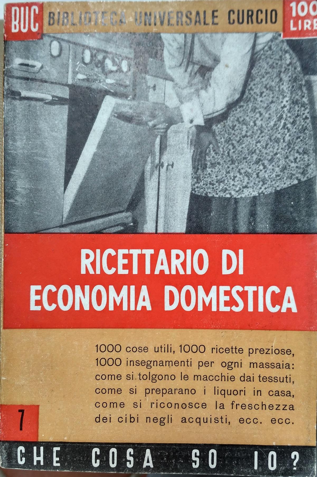 Ricettario di economia domestica