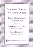 Geriatric Nursing Research Digest