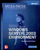 McSa/MCSE Examen 70-290 Windows Server 2003 Environment