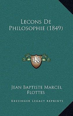 Lecons de Philosophie (1849)