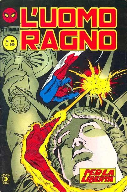 L'Uomo Ragno (2a serie) n. 10