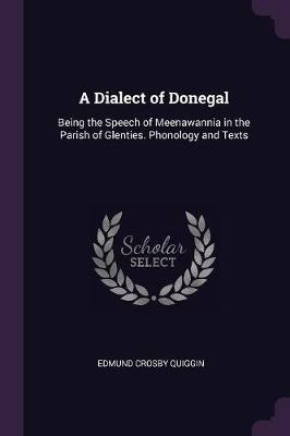 A Dialect of Donegal