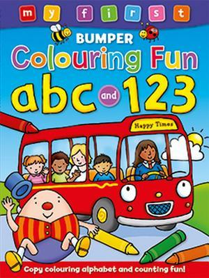 My First Bumper Colouring Fun - ABC and 123