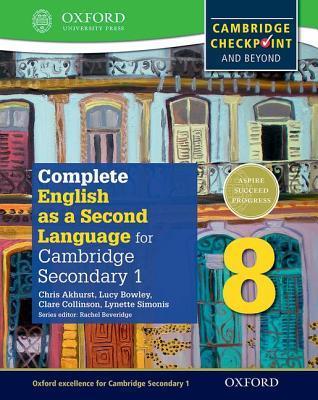 IGCSE complete English as a second language for Cambridge secondary 1. Student's book 8. Per la Scuola media. Con espansione online