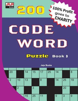 200 Code Word Puzzle Book