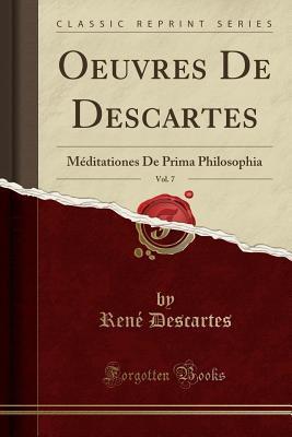 Oeuvres De Descartes, Vol. 7