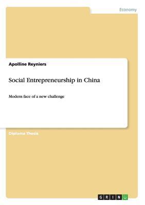 Social Entrepreneurship in China