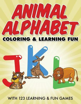 Animal Alphabet Coloring & Learning Fun