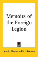 Memoirs of the Foreign Legion