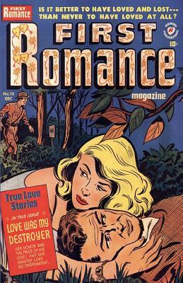First Romance Retro Comic Book Cover Journal