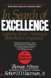 In Search of Excellence Lessons From Ame