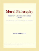 Moral Philosophy (Webster's Japanese Thesaurus Edition)