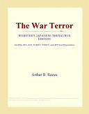 The War Terror (Webster's Japanese Thesaurus Edition)