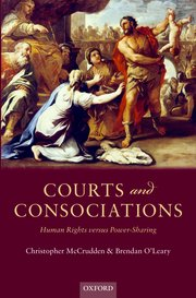 Courts and Consociations