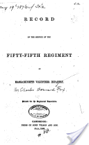 Record of the service of the Fifty-fifth regiment of Massachusetts
