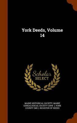 York Deeds, Volume 1...