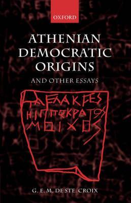 Athenian Democratic Origins