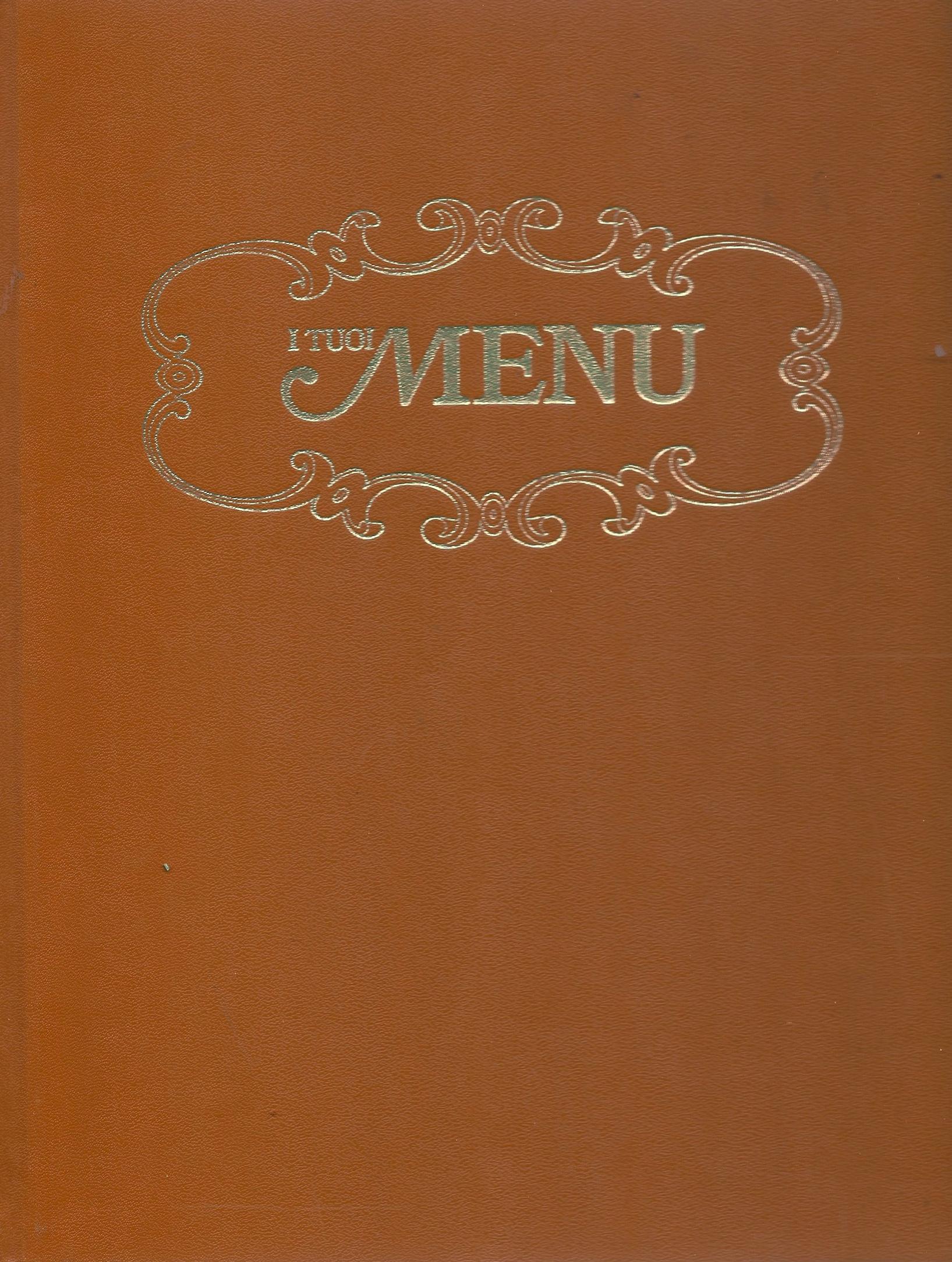 I tuoi menu - vol 9