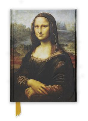 Da Vinci's the Mona Lisa Foiled Journal